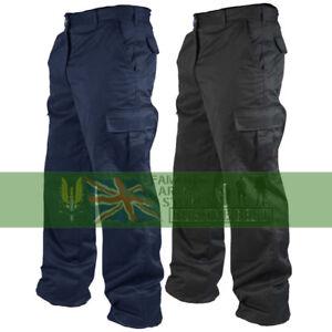 "Mens Work Cargo Pocket Combat Workwear Black Navy Army Trousers Sizes 28"" - 52"""