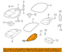 Mercedes MERCEDES-BENZ OEM 98-04 SLK230-Turn Signal Light Right 1708260243