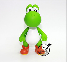 "Super Mario Bros. - 5"" Green YOSHI Action figures Dolls Free SHIPPING"