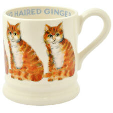 NEW Emma Bridgewater Long Hair Ginger Cat 1/2 Pint Mug USA SHIP