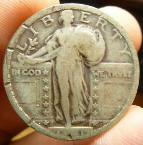 1921 Standing Liberty Silver Quarter