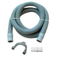 Universal Washing Machine Waste Drain Hose Extension Pipe 2M