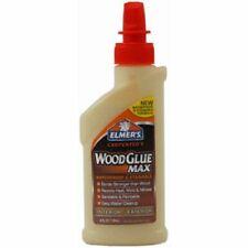 Carpenters Wood Glue Max Interior/Exterior Elmer's 4oz Resists Heat Molds