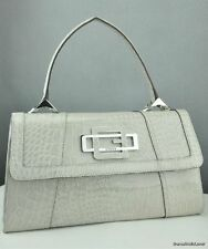 FREE Ship USA Handbag GUESS Satchel Tote Bourgeois Ladies Stone Bag Chic Prime