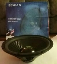 "SoundStorm SSW-15 High Power Woofer 15"" 400 Watts Max"