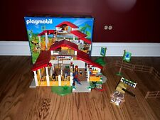 Playmobil 4190 Pony Ranch Horse Farm - with accessories - Used