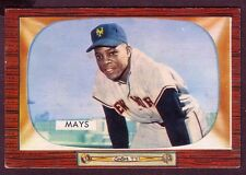 1955 BOWMAN WILLIE MAYS CARD NO:184 EXMINT PLUS CONDITION