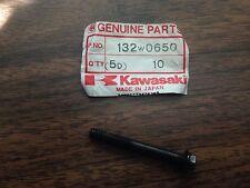 SET of 9 - NOS Kawasaki Small Flanged Bolts - # 132w0650 - Bolt
