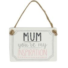 Mum You're My Inspiration Wooden Plaque – Mothers Day Sign Gift Gisela Graham