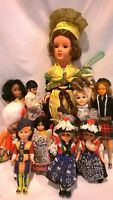 Vintage Multi-Cultural Dolls from Near and Far