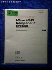 Sony Bedienungsanleitung CMT L1 Component System (#2906)