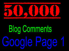 50,000 SEO Website Link Building Backlinks Blog Commenting Backlink + REPORT