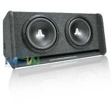 "JL AUDIO CP210-W0v3 DUAL 10"" PORTED SUB ENCLOSURE BOX w/ (2) 10W0v3-4 SUBWOOFERS"