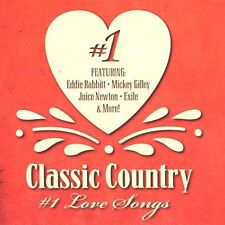 FREE US SHIP. on ANY 2 CDs! NEW CD Various Artists: Classic Country #1 Love Song
