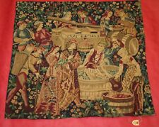 "VINTAGE FRANCE TAPESTRY ""TAPISSERIES DU LION"" ~ 27"" x 25"" NEW WITH TAG"