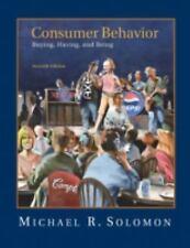Consumer Behavior, Michael R. Solomon, Acceptable Book