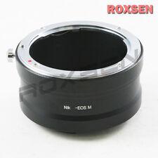 Roxsen Nikon F mount Nikkor AI lens To Canon EOS M EF-M mount Camera Adapter