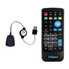 Media Center Computer USB PC IR Remote Control For Windows 7 8 10 Xp Vista