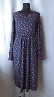 🔻Boden  Floral  Jersey Dress  Blue Pink  Size UK 16L