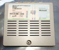 Dell Latitude D531 Serie Abdeckungen Speicher inkl. Schraube und COA Windows XP