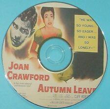 DRAMA 85: AUTUMN LEAVES (1956) Robert Aldrich Joan Crawford, Cliff Robertson