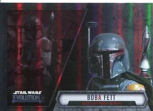 Star Wars Evolution 2016 Base Card #52 Boba Fett - Mos Eisley Bounty Hunter