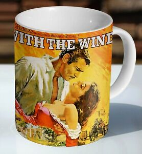 Gone With The Wind Poster Classic Ceramic Coffee Mug - Cup