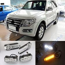 DRL Daytime Running Lamp&Turn Signal Lamp k For Mitsubishi Pajero Sport 15-18