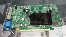 USED ATI Radeon X300 SE 128MB S-Video DVI VGA PCIe 102A3340600 WITH CABLES