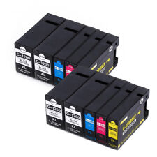10 Ink NON-OEM Pigment for Canon PGI-1200XL 9183B001 MB2020 MB2120 MB2320 MB2720