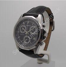 Tissot PR100 T25143741 Quarz Datum Saphirglas Leder Chronograph Herrenuhr
