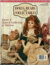 DOLLS BEARS and COLLECTABLES MAGAZINE Vol 1 No 5 - EXCELLENT as NEW