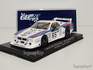 Slot Car Scx Scalextric Fly GB34 Lancia beta Montecarlo 24H le Mans 1981 Martini