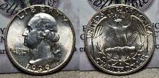 1939 S Washington Quarter 25c Choice BU