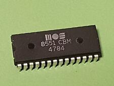 Commodore plus 4/Animal/Apple ACIA Chip MOS 8551 CBM * testé et de travail * #3
