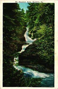 Vintage Postcard - 1938 Buckhill Falls Outdoor Scene Pennsylvania PA #9351