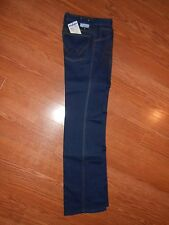 Mens 70s Authentic Wrangler Unisex Flex Fit Stretch Blue Jeans Denim Pants 27xM