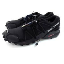 Women's Salomon SpeedCross 4 trailrunning shoes US size 8.5 black EUR 42