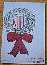 U.S. Vietnam War P.O.W. Christmas Card