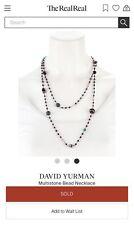 David Yurman Necklace Tweejoux Bijoux Potpourri Onyx Malachite Multistone