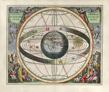 """Beautiful Ancient Map of the Universe and Zodiac CANVAS ART PRINT 16""""X12"""" #3"""