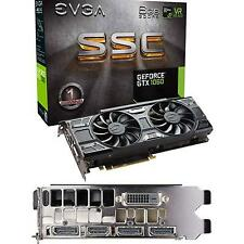 EVGA GeForce GTX 1060 6gb SSC Gddr5 Gaming PC Video Graphics Card Special Mod