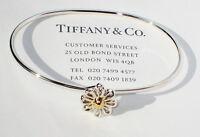 Tiffany & Co 18K Yellow Gold & Sterling Silver Paloma Picasso Daisy Bracelet