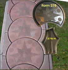 Gehweg Formen, 3 Giessformen für Gehwege  Satz 278 + H