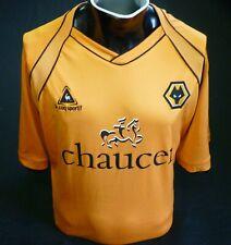 Wolverhampton Wanderers Football Shirt Home 2006/07 Le Coq Sportif Size 46/48