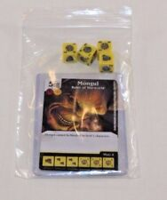 DC Dice Masters War of Light * MONGUL * Set RARE Uncommon CUR + 4 DICE