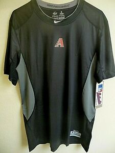 MLB Nike Arizona Diamondbacks Baseball Shirt Fitted-L NWT