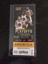 2017 NBA Playoffs Golden State Warriors vs SA Spurs 5/14 Game 1 Ticket Stub MINT