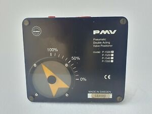 PMW P-1500 Pneumatic Double Acting Valve Positioner - Made in Sweden # NEW