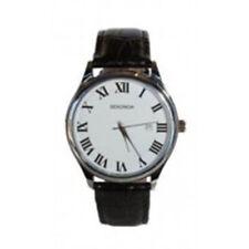 Sekonda 1476 Gents Black Leather Strap Watch RRP £39.99